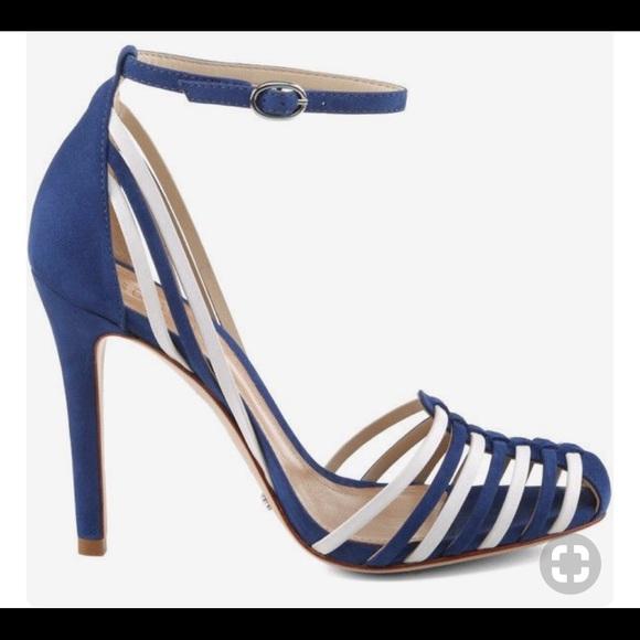 SCHUTZ Shoes | Schutz Navy Blue White
